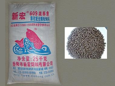609混养鱼膨化颗粒配合饲料