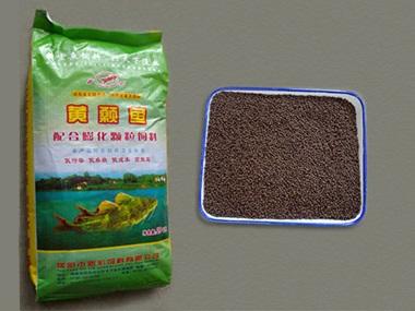黄颡鱼膨化颗粒配合饲料