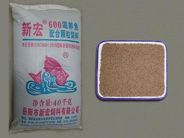 600混养鱼颗粒配合饲料